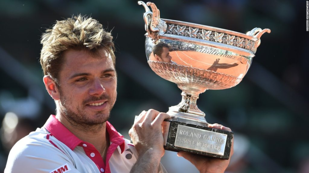 Title-defender Wawrinka after his 2015 French Open Win